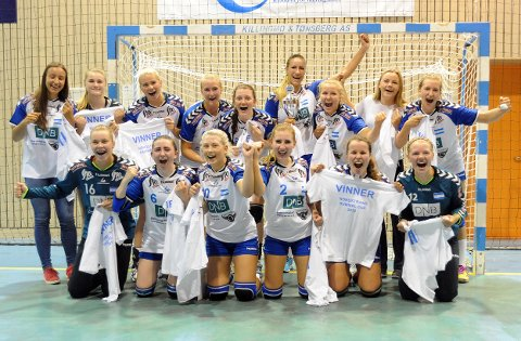 VANT J18: Nordstrands juniorlag (J18) vant i år igjen.