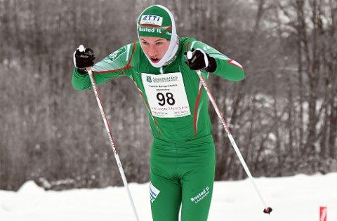 SESONGBESTE: Audun gikk seg til en andreplass i Lauritz Bergendahls Minneløp søndag.