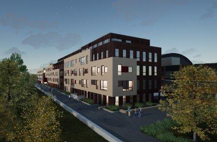 VEGG I VEGG: Nye BSK Arena og Osloidrettens Hus vil ligge vegg i vegg med den gamle Ekeberghallen.