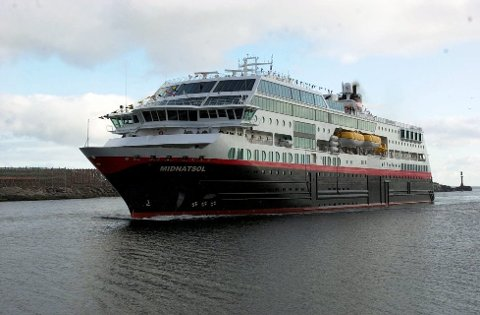 M/S Midnatsol: Om 15 måneder går M/S Midnatsol til Antarktis for å drive cruisetrafikk mellom Sør-Amerika og Antarktis i vintersesongen 2016/2017.