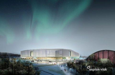Det planlagte Tromsøbadet på Templarheimen.