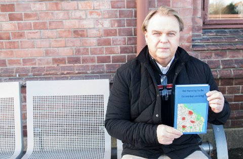 Debuterer med bok: Kai Henning Sollie fra Gjøvik debuterer med bok på fredag.