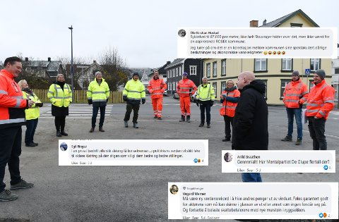 DYR VEI: Oppgraderingen av Hans Mustadsgate i Gjøvik ble svært dyr. Det var mange av OAs lesere kritiske til, og høster støtte i kommentarfeltet på Sløseriombudsmannens Facebook-side.