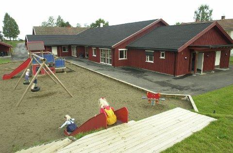 STENGT:  Bjørnsgård barnehage på Kapp i Østre Toten er stengt etter at en ansatt har fått påvist koronasmitte. Bildet er tatt i en annen sammenheng.