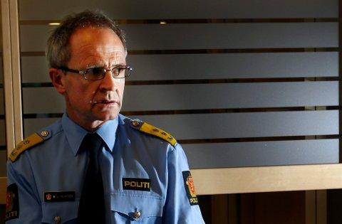 Politimester Arne Jørgen Olafsen Follo politidistrikt er skuffet. Foto: Bjørn V. Sandness