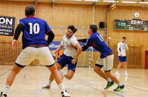 INNSATS: Sindre Vestby og Kolbotn sikret seg to poeng. FOTO: STIG PERSSON