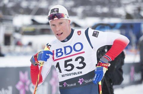 GÅR NORGESCUP: Martin Løwstrøm Nyenget er klar for tre dager med renn på Gålå.FOTO: Terje Pedersen, NTB