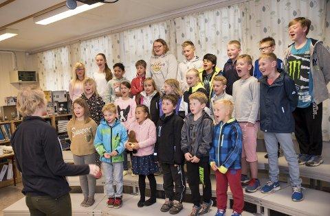 Vennekoret: I markeringen av VIS har Hvarnes skole særlig fokusert på fremføringen av en egen VIS-relatert forestilling, for og med både elever og andre i lokalsamfunnet. Her har sang vært sentralt, da skolen har laget sitt eget kor kalt «Vennekoret».