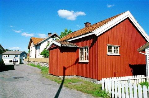 """Vebergs gate 3, det såkalte """"Matroshuset,"""" disponeres i dag av Østre Halsen Vel."""