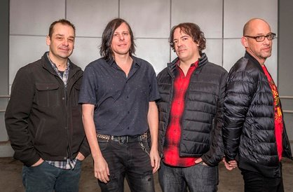 THE POSIES: Jon Auer, Ken Stringfellow, Mike Musburger og Dave Fox.