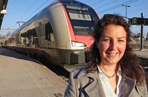 BLANK AVISNING: Prosjektsjef hos Bane NOR, Hanne Sophie Solhaug er helt klar på at miljøtunnel ved Verningen ikke er aktuelt.