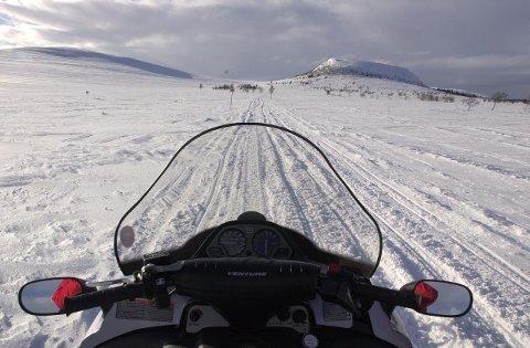 SCOOTER: Politikerne i Trysil vil at det skal etableres scooterløyper i Ljørdalen til neste vinter.