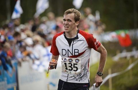 Magne Dæhli gikk til topps i det prestisjetunge etappeløpet O-ringen fredag. Foto: Roni Rekomaa / Lehtikuva / NTB scanpix