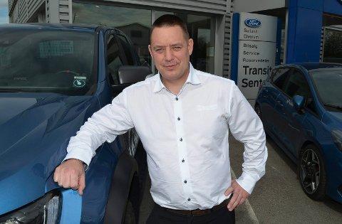 NY JOBB: Hans Petter Gretland er ny daglig leder i Sulland Elverum.