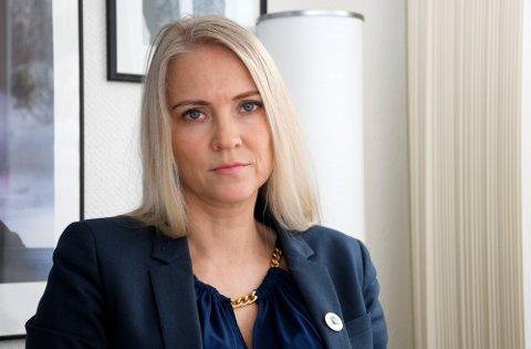 GODT BETALT: Forbundsleder Lill Sverresdatter Larsen tjener over 1,4 millioner kroner, men forsvarer lønnen ut fra stor arbeidsmengde. Foto: Rune Stoltz Bertinussen (NTB scanpix)