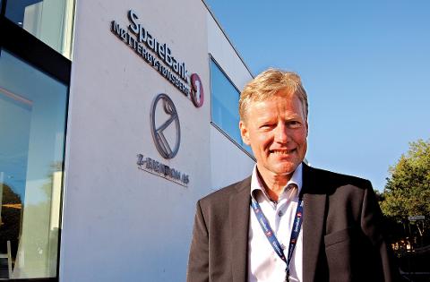 """- Vi blir ikke """"slukt"""" eller overtatt. Dette er en fusjon mellom likeverdige parter, sier sjefen for Nøtterøy - Tønsberg-banken, Bjørn Engaas."""