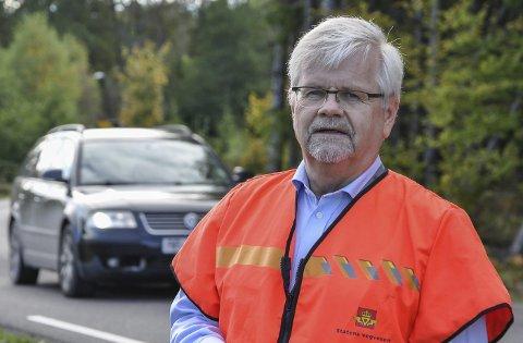 NOE HELT NYTT: Avdelingsdirektør Tore Kaurin i Statens vegvesen sier at det må noe helt nytt til for at de skal vurdere å trekke innsigelsen rundt kryssløsningene på E18 gjennom Porsgrunn. Han er veivesenets meklingsleder i meklingene som starter torsdag.