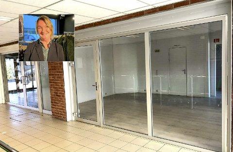 FRA TO TIL EN: To butikker ble for mye for Mint-eier Britt Birkeland, som nå har takket for seg på Stridsklevsenteret.