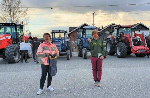Kampklare: Leder i Rakkestad og Degernes Bondelag, Anne Kristin Syverstad, er glad for ordfører Karoline Fjeldstad sin støtte i saken.