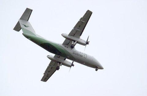 Den kranglevorne passasjeren nektet å ta på seg setebeltet da flyet skulle lande i  Mosjøen.