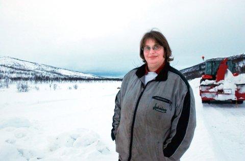 Inger Linerud ønsker å oppholde seg ett kvarter i Sverige for å kunne kjøre til Hattfjelldal sentrum på enklest mulig måte. Det får hun ikke lov til. (Bildet er tatt i 2005).