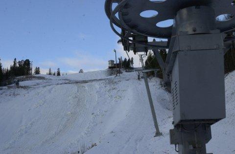 Skillevollen alpinsenter tapte mye da de måtte stenge midt i sesongen i fjor. I år har været og snøforholdene vært en like stor utfordring for drifta.