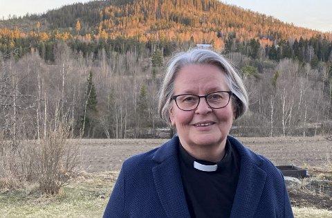 Ny Domprost: Kirsten Almås blir ny domprost i Hamar.                                           Foto: Inger Stensrud Haug