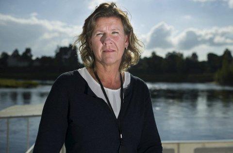 Tidligere ordfører i Jevnaker kommune, Hilde Brørby Fivelsdal, søker jobb i Kongsberg.