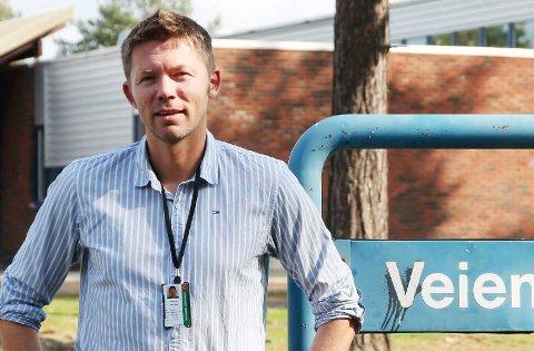 Eskil Dahl Rotherud er avtroppende rektor ved Veienmarka ungdomsskole.