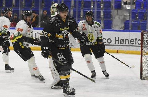 Har tro på fortsatt suksess: Panthers-kaptein Kristoffer Melin.