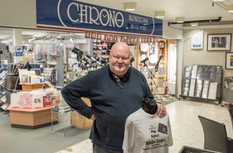 Pål Lundstad driver Chrono på Stormarkedet i Hønefoss.