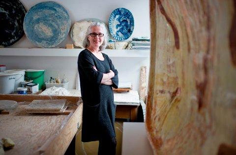 SOMMERUTSTILLING: Marit Tingleff er klar for utstilling i Bergen fra 11. mai