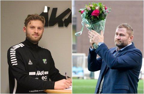 NY SJEF: Martin Klemetsrud Lindmark (26)  tar over jobben som HBK-trener etter Jan Gundro Thorstensen (50).