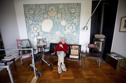 DØD: Guttorm Guttormsgaard døde i sitt hjem i Blaker etter en tids sykdom.