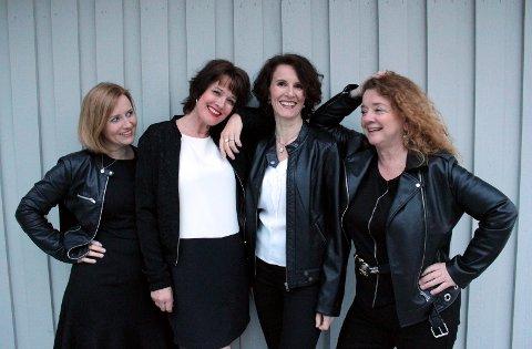 Silhuett består av Hanne Elisabeth Holter, Anne Merete Fagernes, Sunniva Solstrand og Anne-Sophie Redisch.