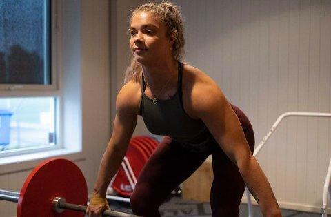 IKKE BLITT TESTET: Siden 2015 har Isabell konkurrert i styrkeløft, men hun har aldri blitt dopingtestet.