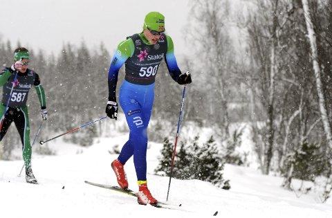 GÅR FORT: Andreas Kirkeng imponerte da han ble nummer fire i junior-NM og fulgte opp med en kjempegod stafettetappe.