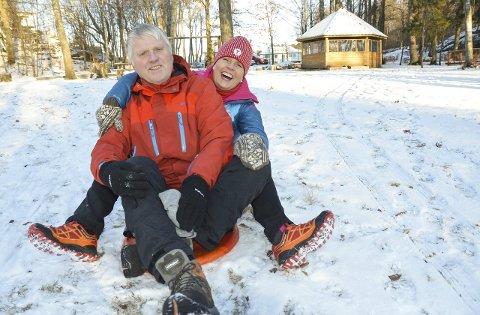 Familiedag: Kirsten Hegge, Bjørnar Trollsås og de andre i SOTF vil ha folk til Preståsen søndag.