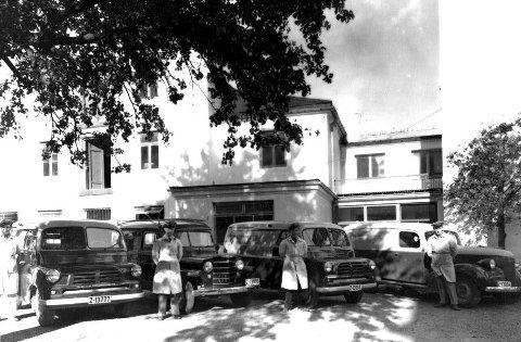 Bakeri: Bakerbilene til Halvorsen hadde gode varer!Alle foto: privat