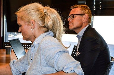 VIKER IKKE: – Miriam Schei skal fullt tilbake som kommuneadvokat i Sandefjord, sa konstituert rådmann Lars Petter Kjær i kontrollutvalget onsdag.