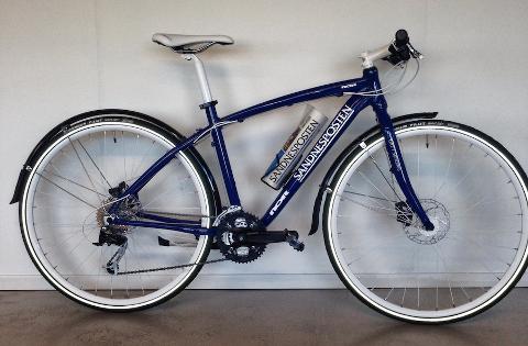 SAVNET: Har du sett sykkelen vår?
