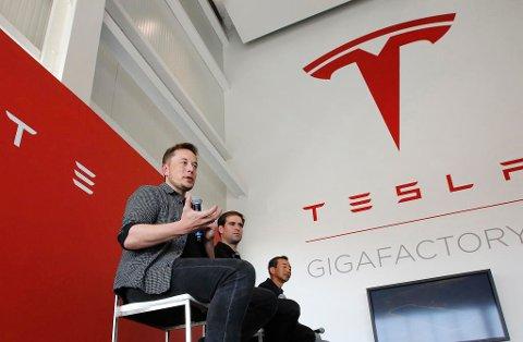 Tesla-gründer Elon Musk. (NTB scanpix)