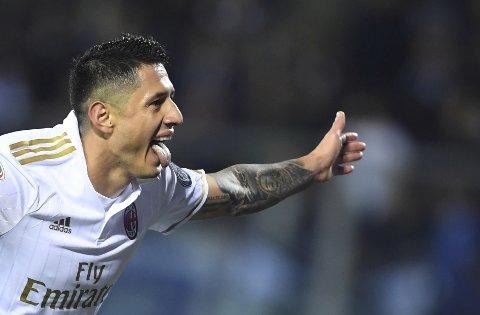 Gianluca Lapadula ble matchvinner sist Milan møtte Juventus tidligere i høst.