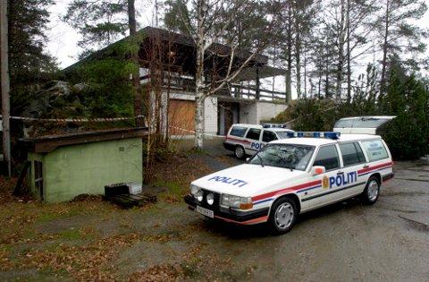 DRAPSGÅTEN: For 20 år siden ble 76 år gamle Marit Ødegaard funnet drept i hjemmet sitt, ikke langt fra grensen (arkivfoto).