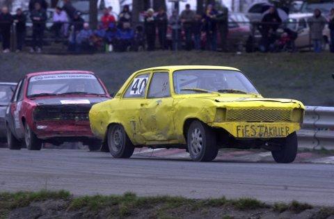 ACTION: Det er klart for årets Landskamp.no i bilcross i helgen. Her ser vi NMK Trøgstad-fører Kjetil Diskerud fra et tidligere løp.