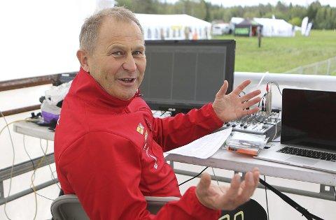 KLAR: Kjell-Erik Kristiansen vil være den som skal bidra sterkt til at de tilstedeværende får en topp opplevelse på VM i orientering.