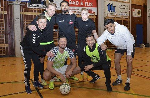 TOER: AFT – med Abdullah Ashraf, Aymen Zebari, Simen Lövholen, Safin Nerwai, Håvard Ringstad Nilsen, Magnus Næristorp og August Byhrø – utgjorde et sterkt lag.