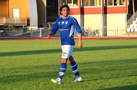 SCORET TO: Arber Rexhaj scoret to mål for Askim FK, men det hjalp ikke. Laget gikk av banen med tap 3-2 i seriepremieren i 5. divisjon.