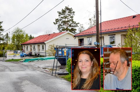En husleieøkning på over 30 prosent på leilighetene her i Åsveien, gjorde dette til en vanskelig sak for (innfelt) blant andre Elin Marie Lysaker (Sp) og Morten Bakker (Ap). ARKIV