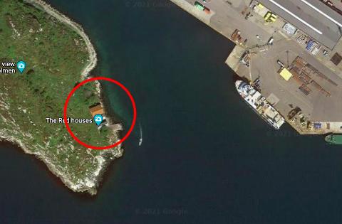 Disse tre sjøhusene på Melingsholmen skal få seg en oppgradering.